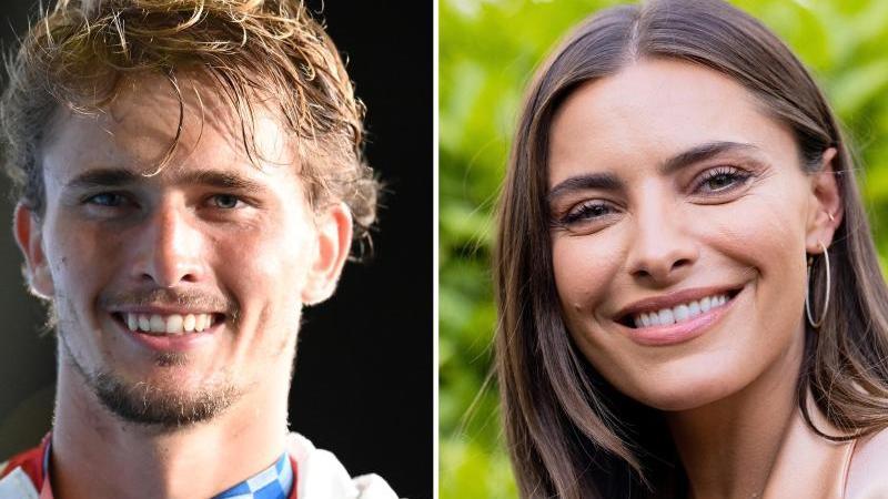 """Alexander Zverev über Sophia Thomalla: """"Sie ist ganz nett"""""""