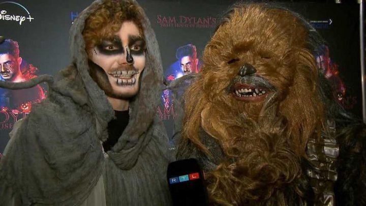 Die besten Grusel-Looks von Sam Dylans Halloween-Party