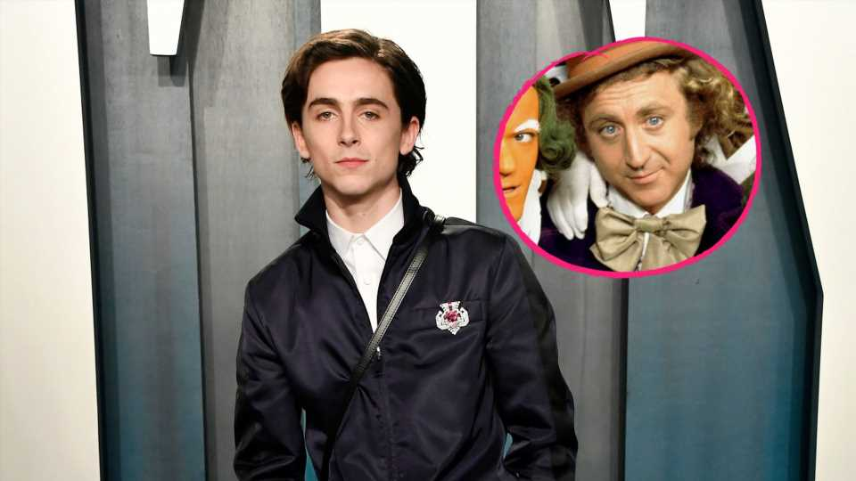 Erste Fotos: So sieht Timothée Chalamet als Willy Wonka aus!