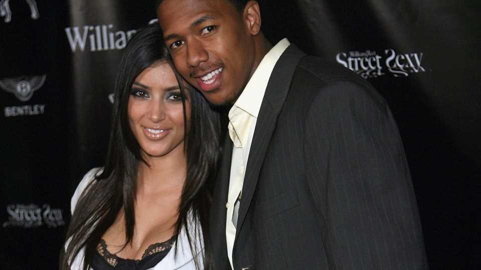 Kim Kardashian brach ihrem Ex-Freund Nick Cannon das Herz!