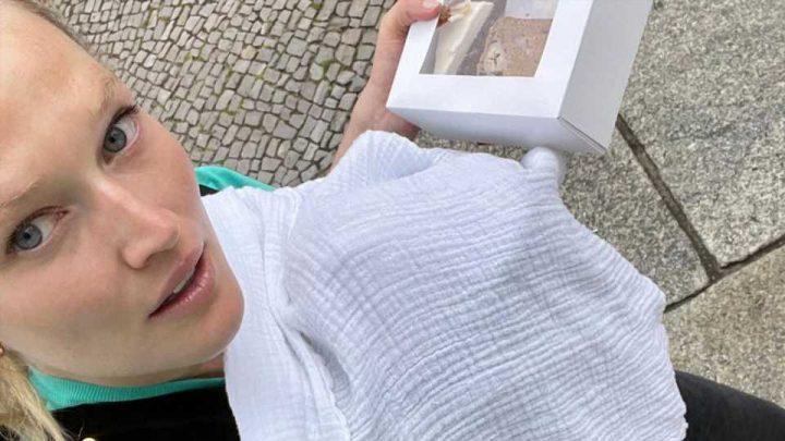 Ohne Nanny: So meistert Model Toni Garrn ihre Mutterschaft