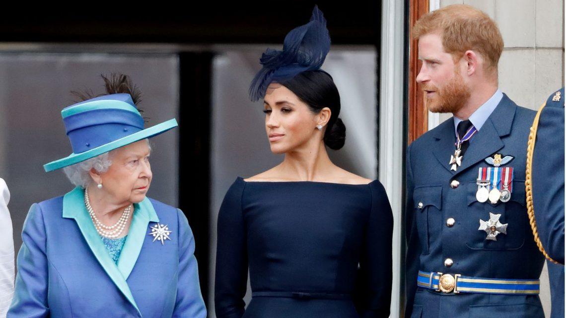Queen Elizabeth: Offizielles Foto soll Bruch mit den Sussexes forciert haben