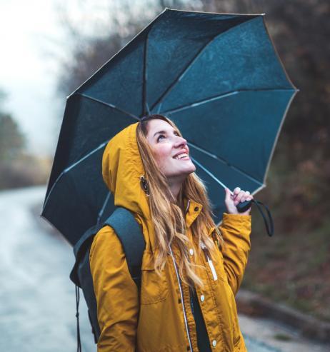 Regenschirm: Dieses Modell hat im Praxistest überzeugt!